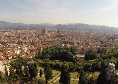 Veduta Firenze da Giardino di Boboli