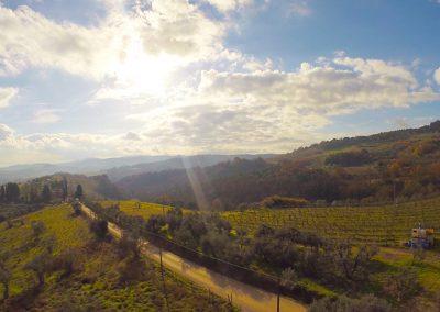 Via Francigena a Gambassi Terme